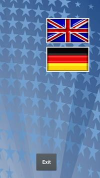 Flags of the USA poster