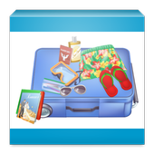 Pack your suitcase icon