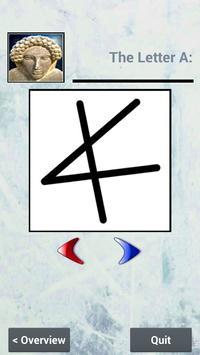 Phoenician Alphabet Teacher apk screenshot