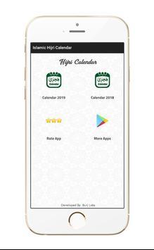 Islamic Hijri Calendar screenshot 1