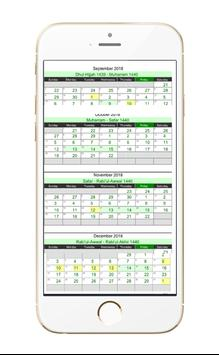Islamic Hijri Calendar screenshot 5