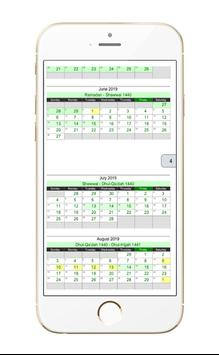 Islamic Hijri Calendar screenshot 7