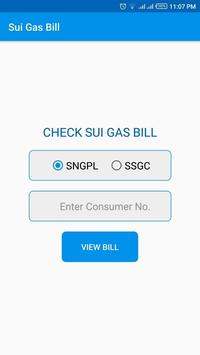 Sui Gas Bill screenshot 1