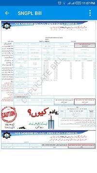 Sui Gas Bill screenshot 2