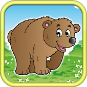 Bears Forest Running icon