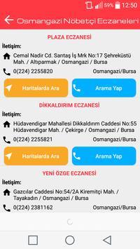 Bursa Nöbetçi Eczaneleri screenshot 3