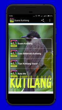 Suara Burung Kutilang Mp3 apk screenshot