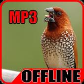 Suara Burung Pipit Offline icon