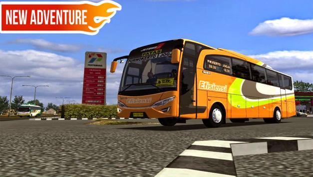 Telolet Bus Driving Racing poster