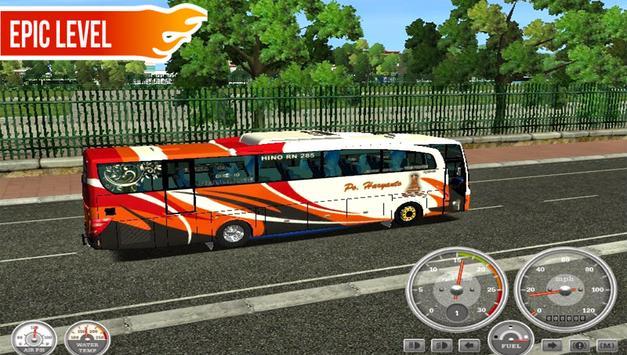Telolet Bus Driving Racing screenshot 1