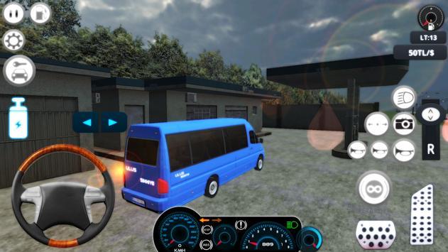 Dolmuş Minibüs Şoförü 2018 apk screenshot