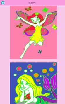 Kids coloring book: Princess screenshot 7