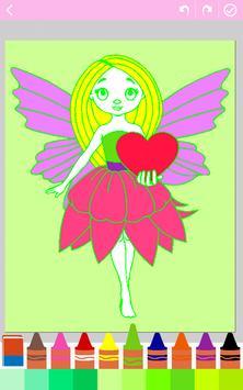 Kids coloring book: Princess poster