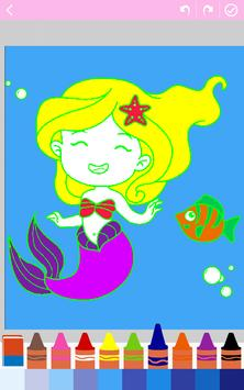 Kids coloring book: Princess screenshot 1