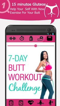 30 Days Butt Workout Challenge poster