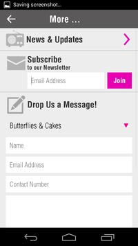 Butterflies & Cakes screenshot 2