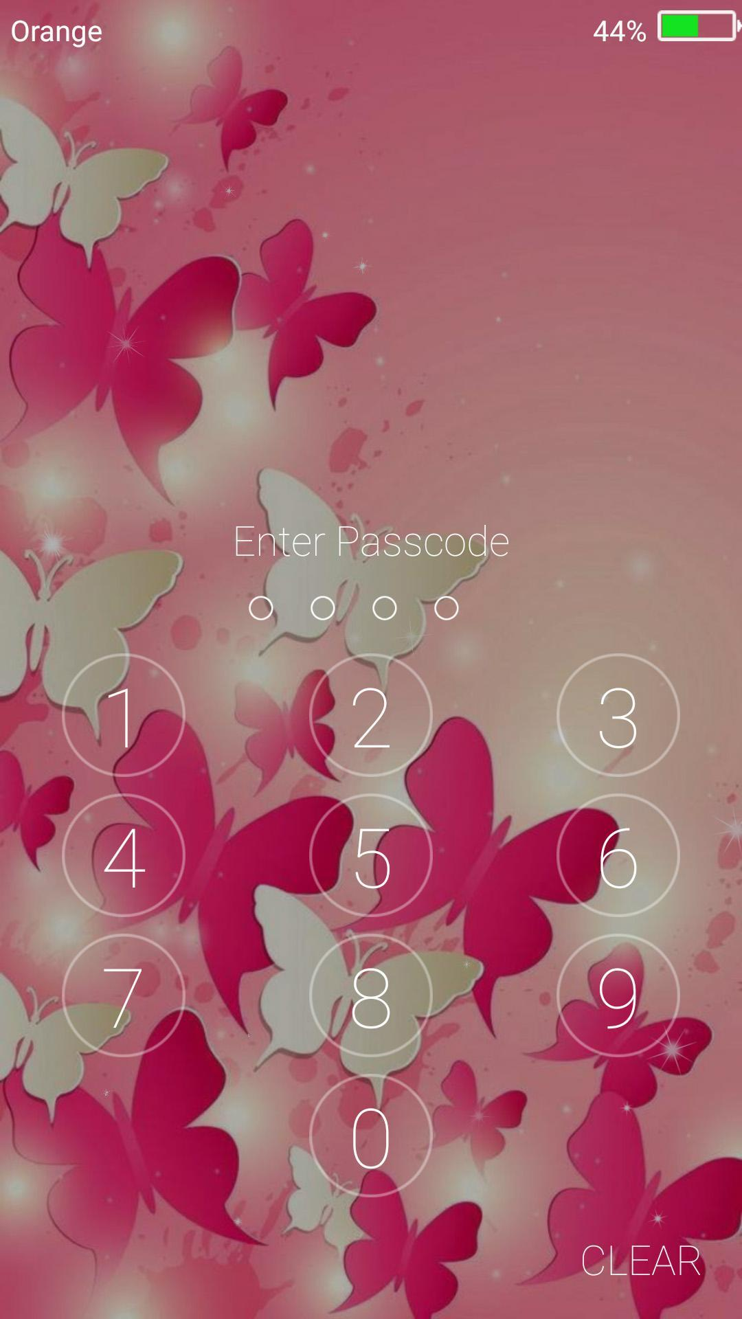 Butterfly Live Wallpaper Lock Screen For Android Apk
