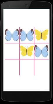 Butterfly Tic Tac Free apk screenshot