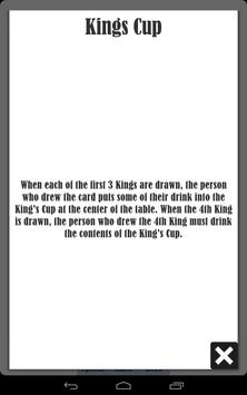 Kings Cup (Ring of fire) apk screenshot