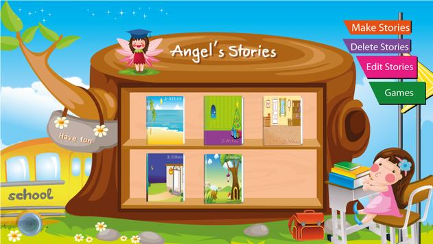 Make story book for kids poster