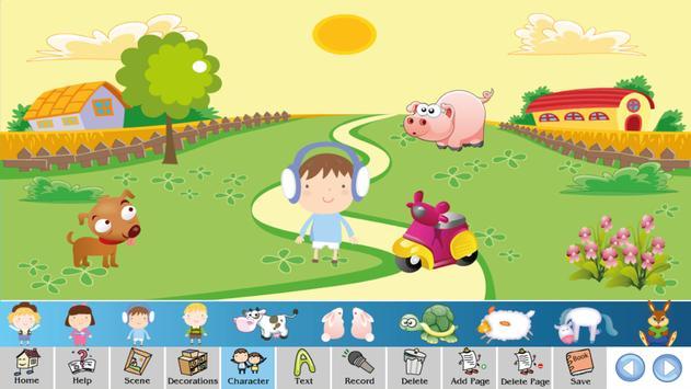 Make story book for kids apk screenshot