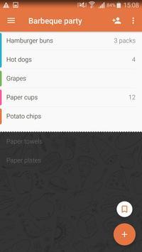 Shopping List - Buy Me a Pie! apk screenshot