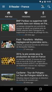 Buzz.me Reader - France screenshot 1