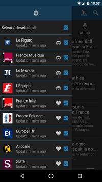 Buzz.me Reader - France apk screenshot