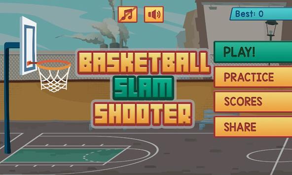 Basketball Slam Shooter! poster
