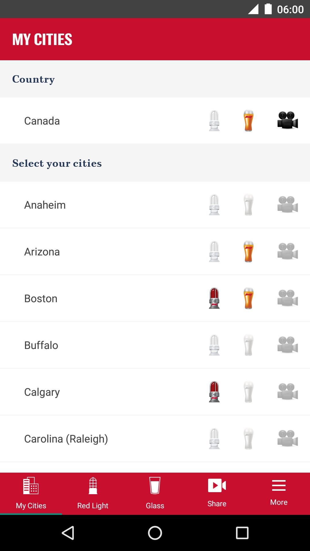 Download Budweiser Red Light App For Android Background