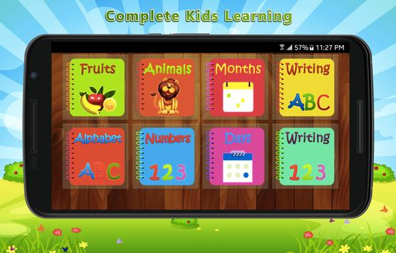 Kids Complete Learning poster