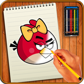 Learn to Draw Angry Bird Characters icon