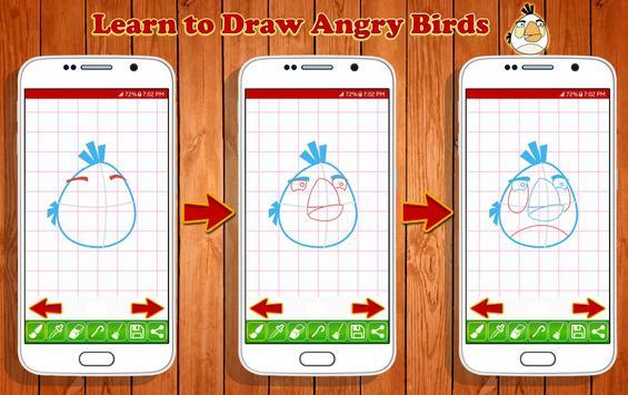 Learn to Draw Angry Bird Characters screenshot 11