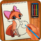 Learn to Draw Animal Jam Characters icon