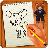 Learn to Draw Cute Animals icon