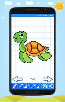 Learn to Draw Cute Animals screenshot 14
