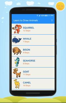 Learn to Draw Cute Animals screenshot 1