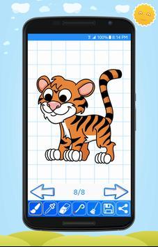 Learn to Draw Cute Animals screenshot 7