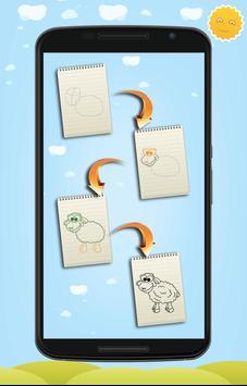 Learn to Draw Cute Animals screenshot 8