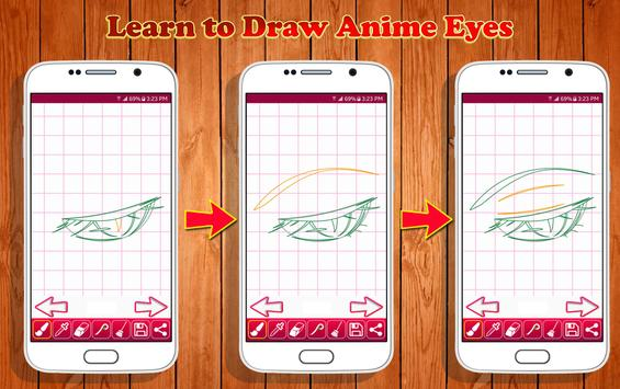 Learn to Draw Anime Eyes screenshot 6