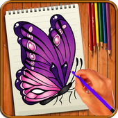 Learn to Draw Butterflies icon