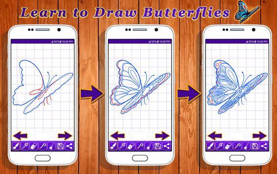 Learn to Draw Butterflies screenshot 10