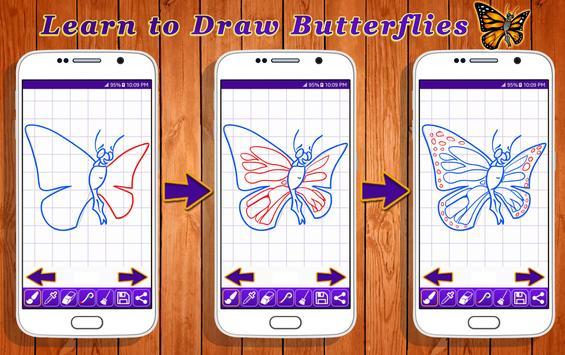 Learn to Draw Butterflies screenshot 3
