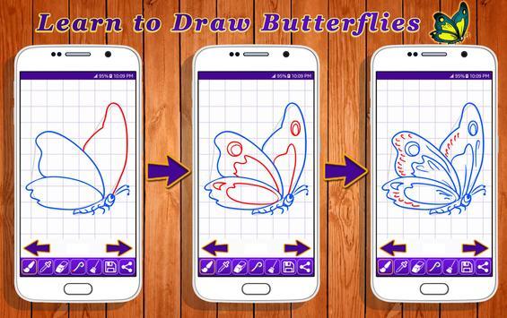 Learn to Draw Butterflies screenshot 5
