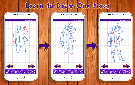Learn to Draw One Piece Characters screenshot 8