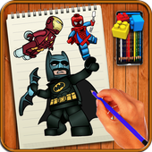 Learn to Draw Lego Comic Characters icon