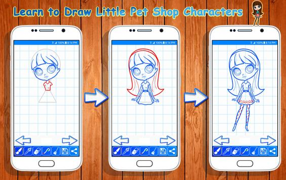 Learn to Draw Little Pet Shop Characters screenshot 12