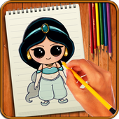 Learn to Draw Little Princess icon