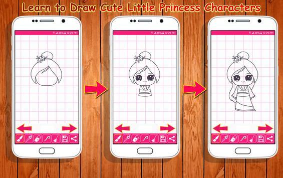 Learn to Draw Little Princess screenshot 8