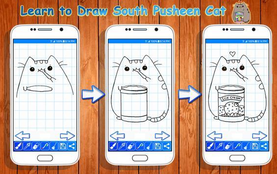 Learn to Draw Pusheen Cat Characters screenshot 3